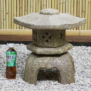 14号六角雪見灯籠(とうろう) 信楽焼き燈籠[ok-0041]