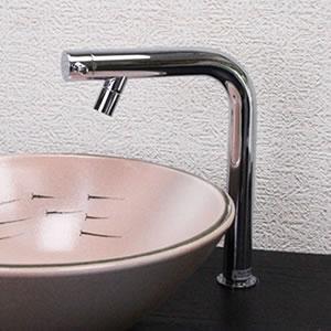 立ち水栓 【手洗い鉢用の立水栓/単水栓】[se-0011]