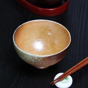 信楽焼き飯碗!古信楽めし碗(小)!土のぬくもりあるご飯茶わんです。[w909-12]