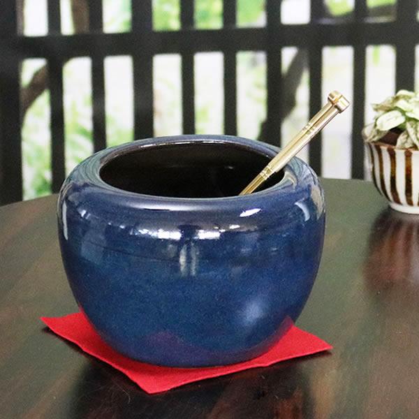 信楽焼 ミニ火鉢 陶器ひばち 手焙 手あぶり 信楽焼ひばち