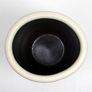 信楽焼きかさたて フクロウ透かし彫り(白)傘立て 陶器かさたて [kt-0150]