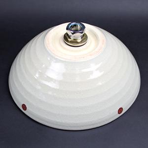 赤点々(小型)手洗い鉢【小型サイズ】信楽焼き手洗器!陶器の手水鉢[tr-2177]