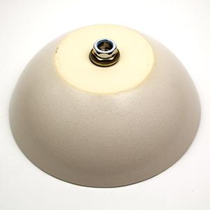 白マット手洗い鉢【小型サイズ】信楽焼き手洗器!陶器の手水鉢[tr-2210]