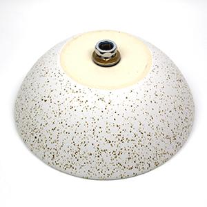白斑点手洗い鉢【小型サイズ】信楽焼き手洗器!陶器の手水鉢[tr-2206]