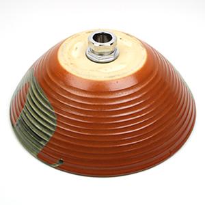 火色手洗い鉢【小型サイズ】信楽焼き手洗器!陶器の手水鉢[tr-2084]