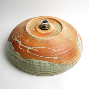 あかつき手洗い鉢【中型サイズ】信楽焼き手洗器!陶器の手水鉢[tr-3174]