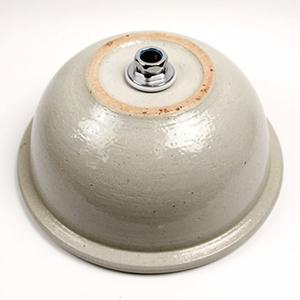 ぶどう絵手洗い鉢【中型サイズ】信楽焼き手洗器!陶器の手水鉢[tr-3108]