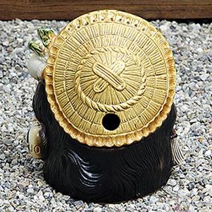 信楽焼きたぬき 10号福々狸 陶器タヌキ[ta-0001]