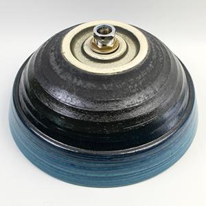 青ビードロ手洗い鉢【中型サイズ】信楽焼き手洗器!陶器の手水鉢[tr-3195]