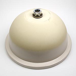 白マット手洗い鉢【中型サイズ】信楽焼き手洗器!陶器の手水鉢[tm-3057]