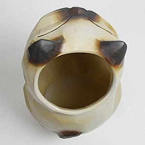 信楽焼きかさたて シャム猫傘立て 陶器[kt-0080]