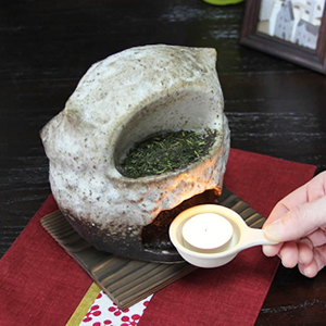 福多郎茶香炉 信楽焼き茶香炉[ty-0004]