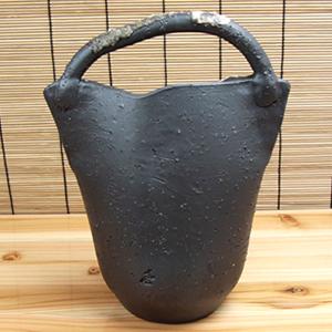 さつき 花入れ 信楽焼き 花瓶[ha-0173]