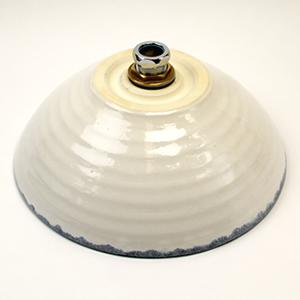 ブラックホワイト(小型)手洗い鉢【小型サイズ】信楽焼き手洗器!陶器の手水鉢[tr-2235]