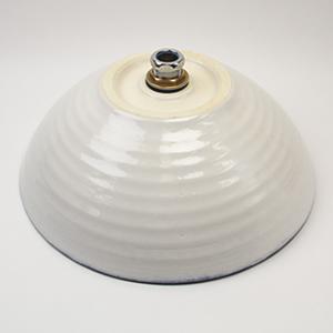 ブラックホワイト手洗い鉢【中型サイズ】信楽焼き手洗器!陶器の手水鉢[tr-3225]