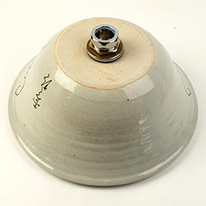 マスカット絵ソリ型手洗い鉢【小型サイズ】信楽焼き手洗器!陶器の手水鉢[tr-2246]