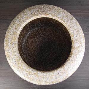 信楽焼15号窯変火鉢!陶器ひばち/手焙/手あぶり/信楽焼ひばち【hi-0031】