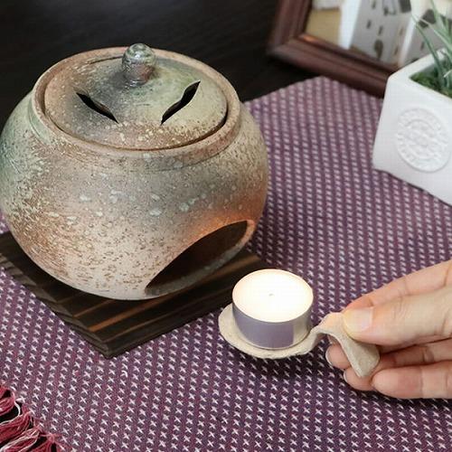 ビードロ茶香炉 信楽焼き茶香炉[ty-0013]