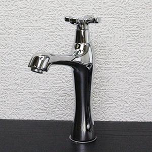 立ち水栓 【手洗い鉢用の立水栓/単水栓】[se-0002]