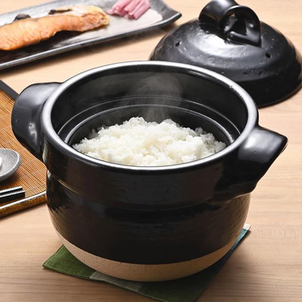 ご飯鍋 ごはん鍋 陶器 土鍋 信楽焼 ごはん 鍋直火 ご飯鍋