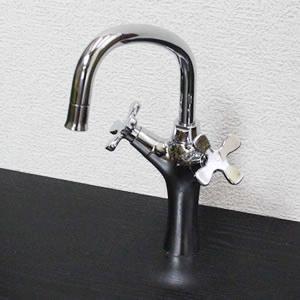 立ち水栓 【手洗い鉢用の立水栓/混合水栓】[se-0004]