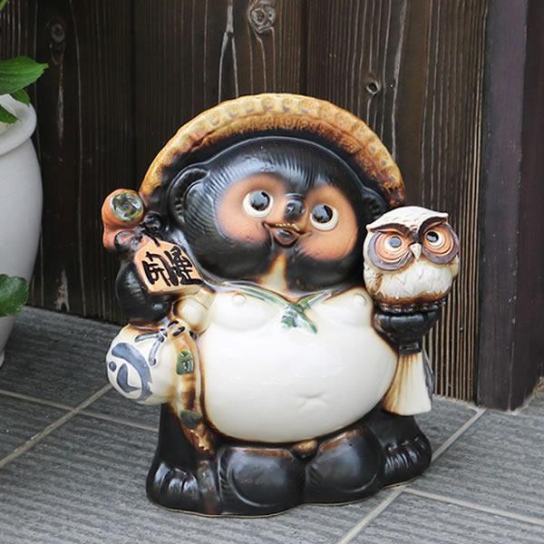 信楽焼きたぬき 福狸 陶器タヌキ 狸