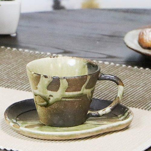 信楽焼 古しがらき コーヒーカップ