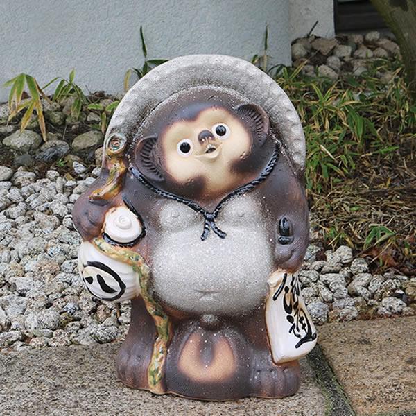 信楽焼 狸 信楽焼たぬき 縁起物タヌキ 陶器タヌキ たぬき置物 やきもの しがらきやき 焼き物 狸 タヌキ 信楽 たぬき