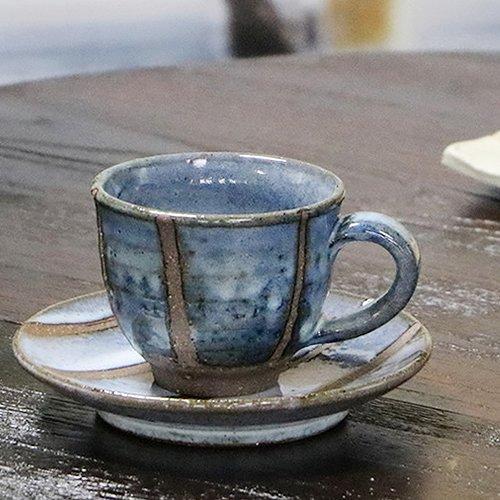 信楽焼 湖水 コーヒーカップ