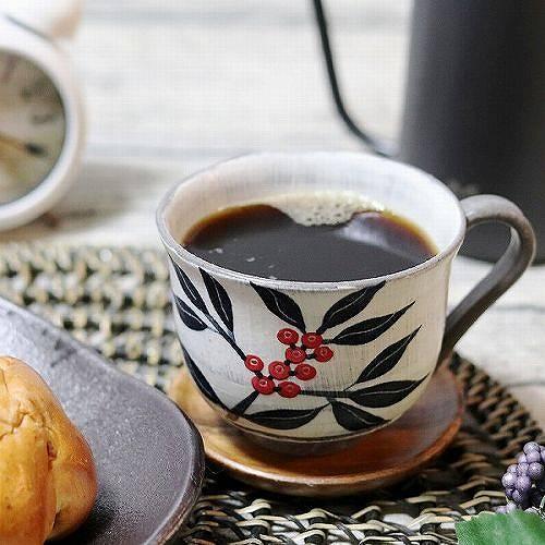 南天(黒) マグカップ