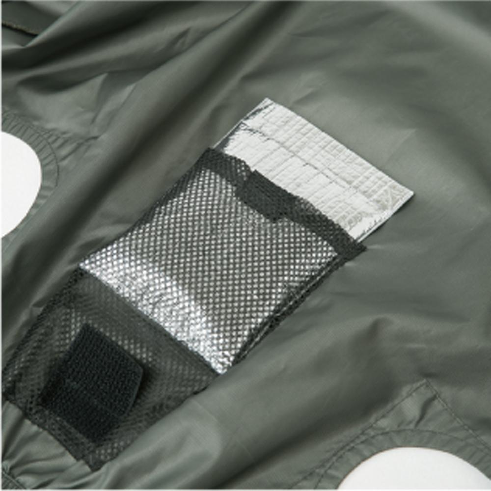 空調風神服 エアーマッスルフーディーベスト G-4219
