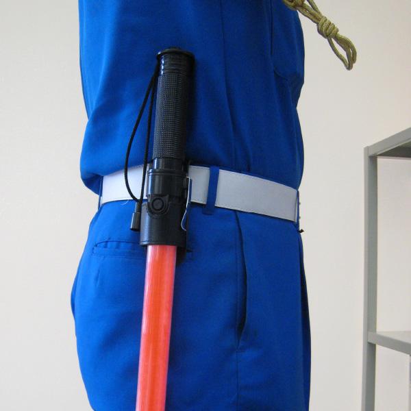 誘導棒『花子』黄LED ロング<br><80cm>3本+誘導棒ホルダーサービス