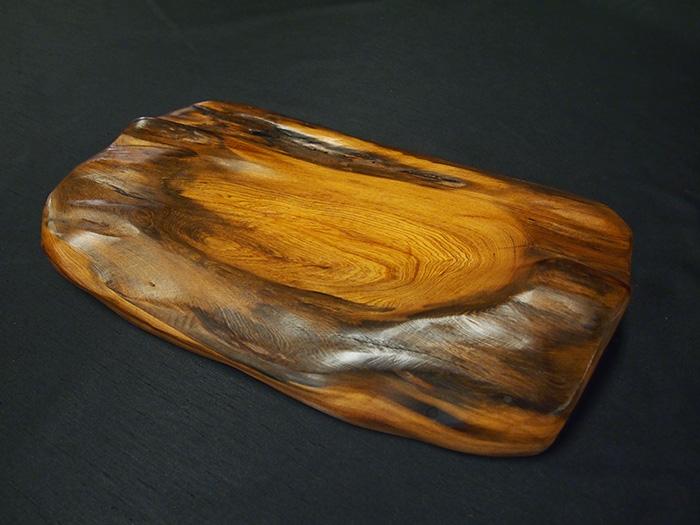 屋久杉自然アクセサリー皿559