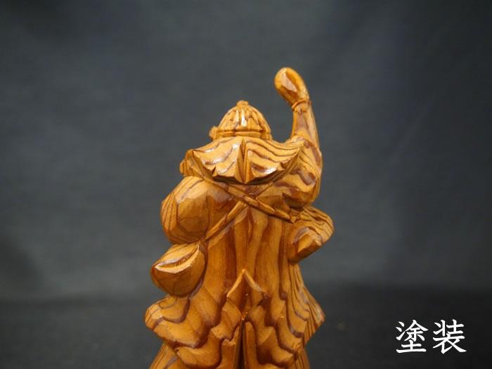 屋久杉「大石内蔵助」彫り物・置物125