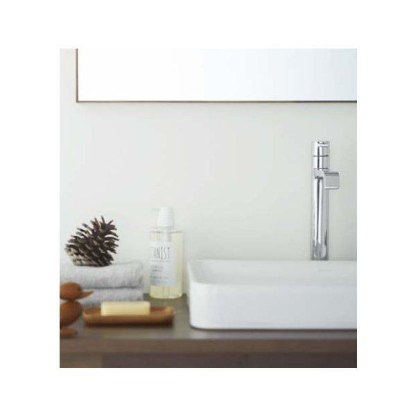 ウッドワン 無垢の木の洗面台(オープンタイプ) ウォールナット×糸面(幕板付)カウンター 間口2700mm(オーダー対応) WA-001