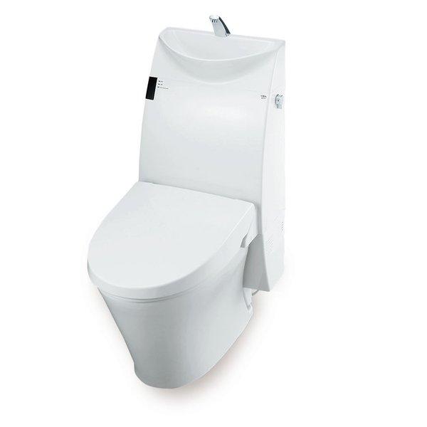 LIXIL アステオ 床上排水 寒冷地・水抜方式/手洗付/グレードA6 YBC-A10P_DT-386JN
