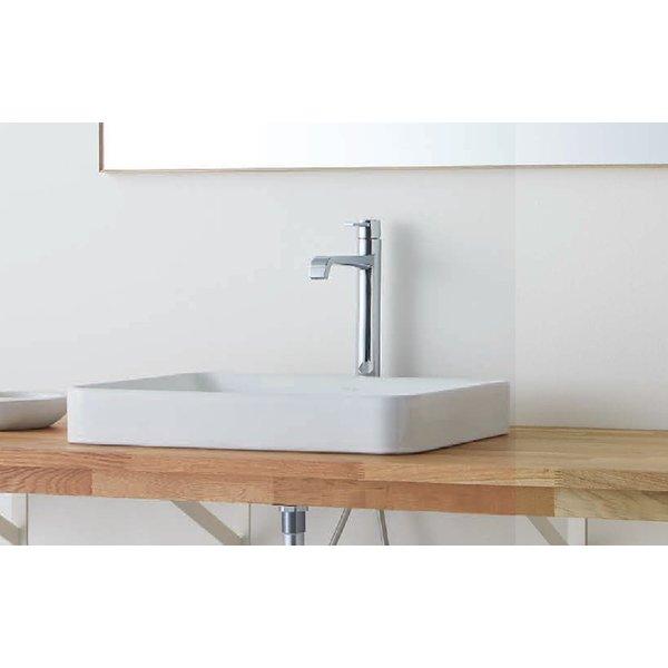ウッドワン 無垢の木の洗面台(オープンタイプ) オーク×糸面(幕板付)カウンター 間口2700mm(オーダー対応) WA-002