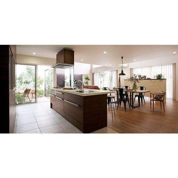 LIXIL リシェルSI オープン対面キッチン richelle_plan8