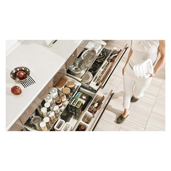 LIXIL リシェルSI オープン対面キッチン richelle_plan15