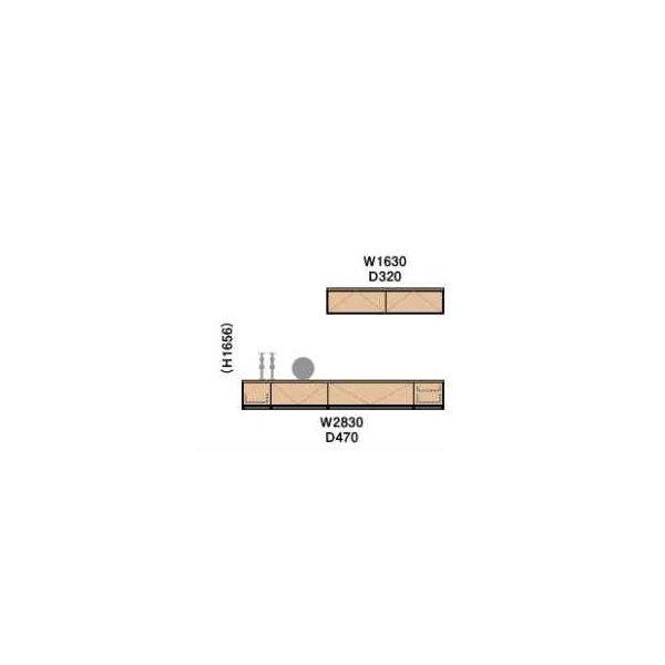 大建工業 MiSEL ねこ用カウンタープラン misel_cat_plan