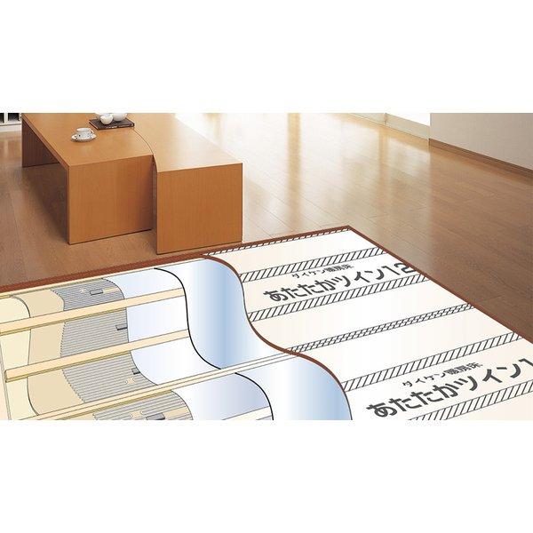 大建工業 電気式 / 仕上げ材分離型暖房床 あたたかツイン12-FS AC200V用 3×7.5尺  1枚(2.10�)入り HS122-31