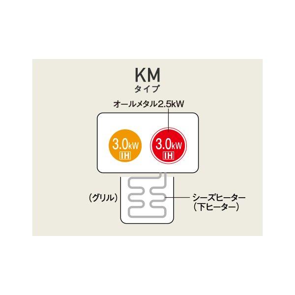 パナソニック IHクッキングヒーター 据置タイプ/2口IH 右IHオールメタル対応 KZ-D60KM