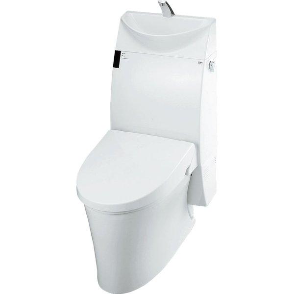 LIXIL アステオリトイレ 床排水 寒冷地・ヒーター付便器・水抜併用方式/手洗付/グレードAR5 YHBC-A10H_DT-385JHN