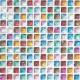 名古屋モザイク アートモザイク ピカディエット グラス 11角 14シート/箱 TCT-R6000〜TCT-R6140
