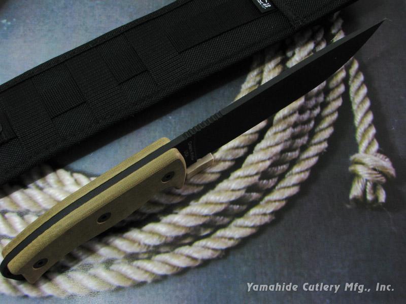 オンタリオ 8668 RAT-7 1095カーボンスチール シースナイフ