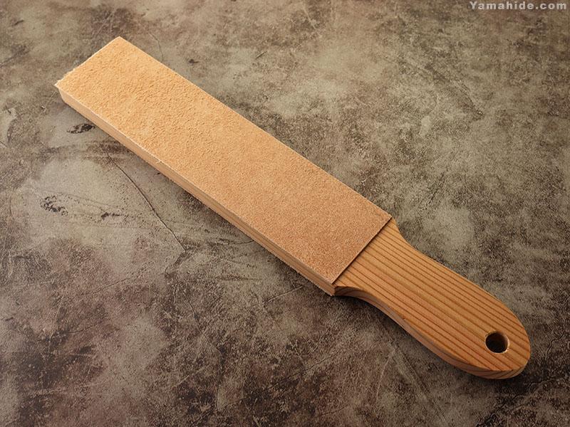 仕上用牛革板(両面・床革) 小 ,革砥 ストロッピングに