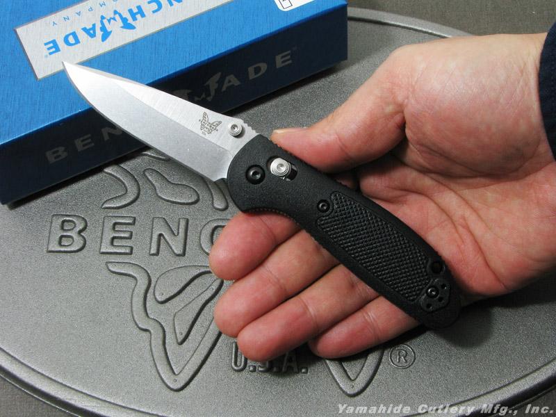 ベンチメイド 556-S30V ミニ・グリップティリアン シルバー直刃 ,折り畳みナイフ ,BENCHMADE Mini Griptilian