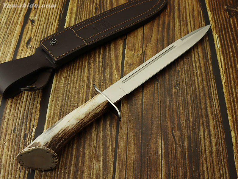 ジョーカー CN31 シャモア クラウンスタッグ ハンティング シースナイフ,JOKER CHAMOIS HUNTING KNIFE