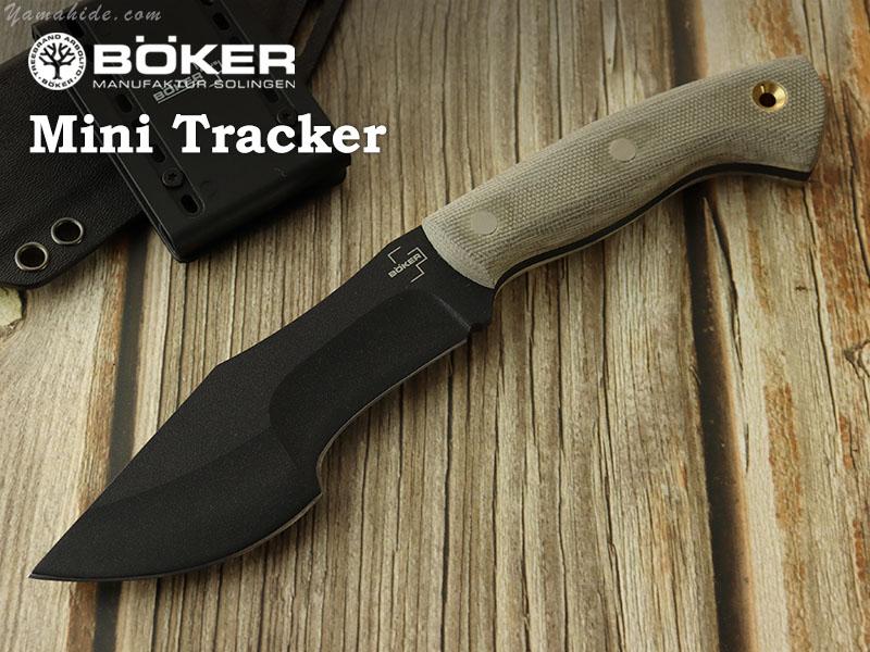 ボーカー プラス 02BO027 ミニ トラッカー ブッシュナイフ,BOKER Plus Mini Tracker