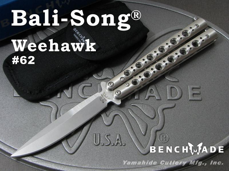 ベンチメイド 62 バリソン ウィホーク ,バタフライナイフ ,BENCHMADE Bali-Song Weehawk